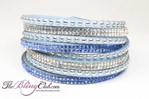 the-bling-club-sky-blue-vegan-leather-swarovski-crystals-studs-wrap-bracelet-adjustable-snap-close