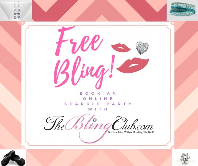 theblingclub.com online sparkle parties free bling