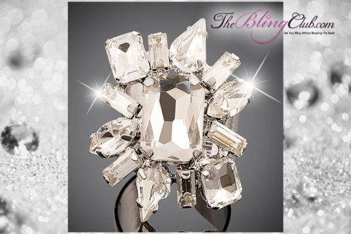 theblingclub.com starbust luxury crystal ring